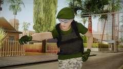 Gunrunning Female Skin v1 para GTA San Andreas
