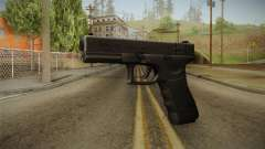 Glock 18 3 Dot Sight Blue para GTA San Andreas
