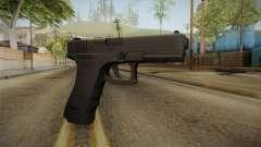 Glock 17 3 Dot Sight Ultraviolet Purple para GTA San Andreas