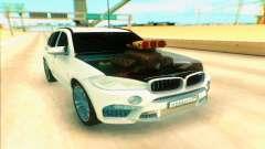 BMW X5 blanco para GTA San Andreas