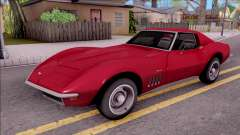 Chevrolet Corvette C3 Stingray para GTA San Andreas