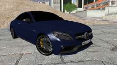 Mercedes-Benz C63 Coupe Rashid Edition para GTA San Andreas