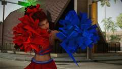 Cheer Captain Kerrigan v5 para GTA San Andreas
