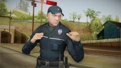 Turkish Police Officer Long Sleeves para GTA San Andreas