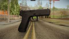 Glock 17 3 Dot Sight Blue para GTA San Andreas