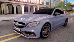 Mercedes-Benz C63S AMG Coupe 2016 v2 para GTA San Andreas