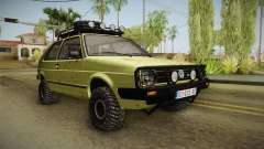 Volkswagen Golf Mk2 Country para GTA San Andreas