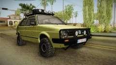 Volkswagen Golf Mk2 Country para GTA San Andreas