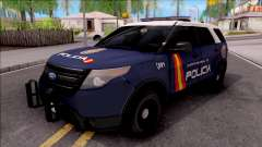 Ford Explorer Spanish Police para GTA San Andreas