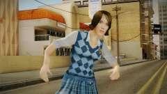 Pinky Gauthier form Bully Scholarship v1 para GTA San Andreas
