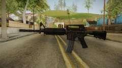 Colt M4A1 Rusty para GTA San Andreas