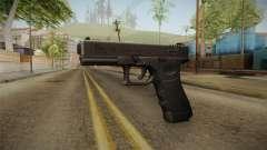 Glock 18 3 Dot Sight Pink Magenta para GTA San Andreas