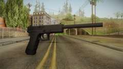 Glock 17 3 Dot Sight with Long Barrel para GTA San Andreas
