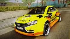 Lada Vesta Wtcc para GTA San Andreas