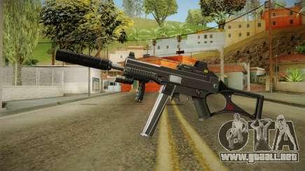 MP5 Grey Chrome para GTA San Andreas