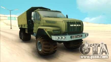 Ural SIGUIENTE Militar para GTA San Andreas