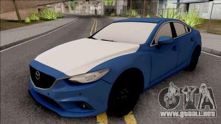 Mazda 6 Standard 2015 para GTA San Andreas