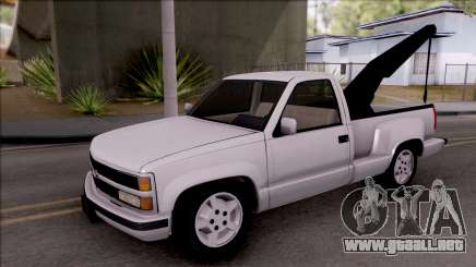 Chevrolet Grand Blazer Towtruck para GTA San Andreas