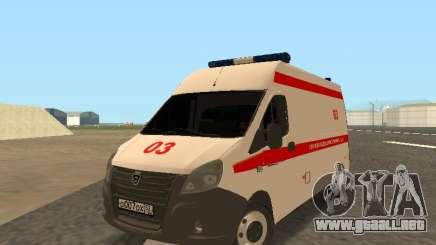 La Gacela De La Ambulancia para GTA San Andreas