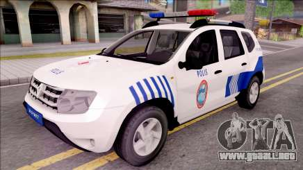 Renault Duster Turkish Police Patrol Car para GTA San Andreas