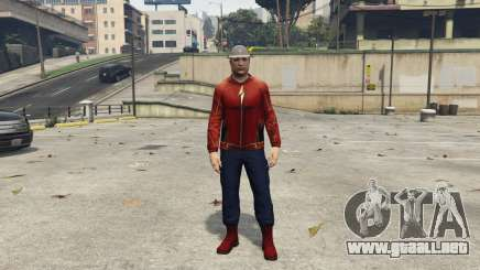 Real Jay Garrick (Earth-3) 1.1 para GTA 5