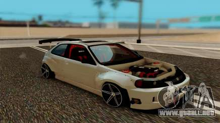 Honda Civic 98 Hatch Rocket Bunny para GTA San Andreas