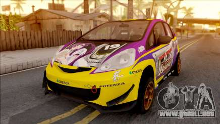 Honda Jazz RS W Rize Tedeza Itasha para GTA San Andreas