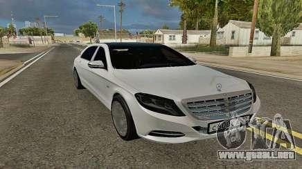 Mercedes-Maybach S600 X222 Exclusive para GTA San Andreas