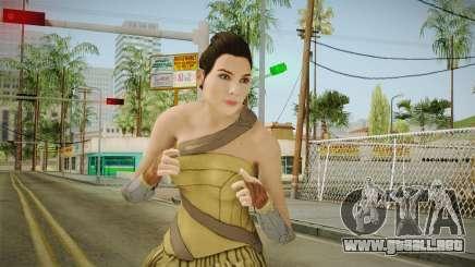 Wonder Woman (Amazon) from Injustice 2 para GTA San Andreas