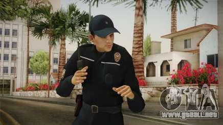 Turkish Police Officer Long Sleeves v2 para GTA San Andreas