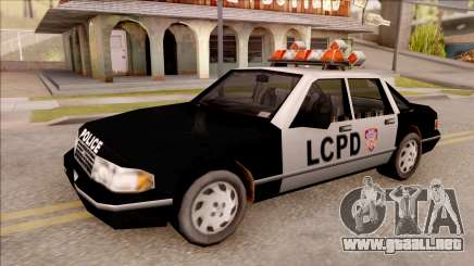Police Car from GTA 3 para GTA San Andreas