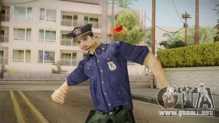 Driver PL Police Officer v2 para GTA San Andreas