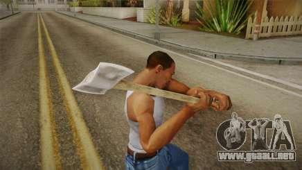 Friday The 13th - Jason Voorhees (Part IX) Axe para GTA San Andreas