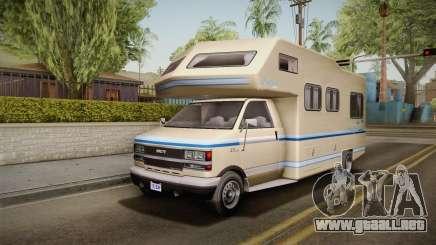 GTA 5 Brute Camper IVF para GTA San Andreas
