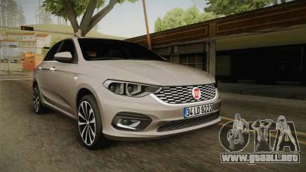 Fiat Egea Tipo 2016 para GTA San Andreas