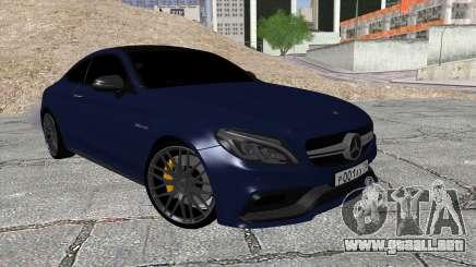 Mercedes-Benz C63 Coupe Rashid Edition para GTA San Andreas