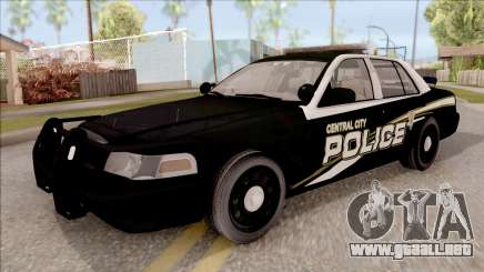 Ford Crown Victoria Central City Police para GTA San Andreas