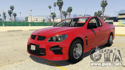 HSV Limited Edition GTS Maloo para GTA 5