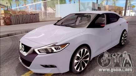 Nissan Maxima 2016 para GTA San Andreas