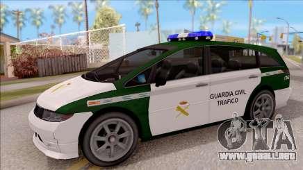 Dinka Perennial MPV Spanish Police para GTA San Andreas