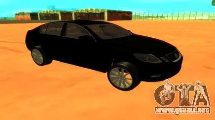 Lexus GS430 para GTA San Andreas