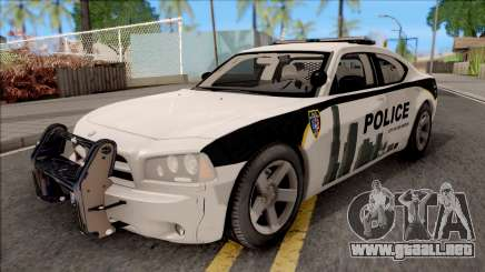 Dodge Charger Los Santos Police Department 2010 para GTA San Andreas