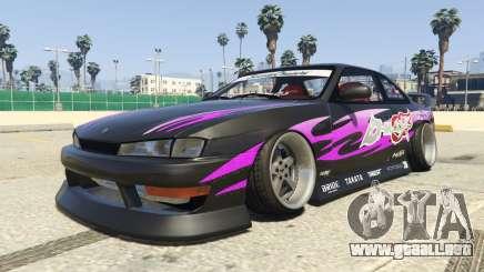 Nissan Silvia S14 Kouki BN Sports para GTA 5