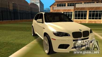 BMW X5M v1.2 para GTA San Andreas