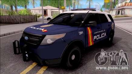 Ford Explorer Spanish Police para GTA San Andreas