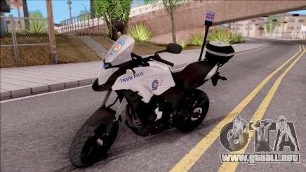 Honda CB500X Turkish Traffic Police Motorcycle para GTA San Andreas