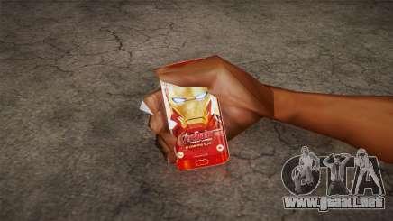 Samsung Galaxy S6 Ironman Limited Edition para GTA San Andreas
