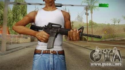 Colt M4A1 para GTA San Andreas