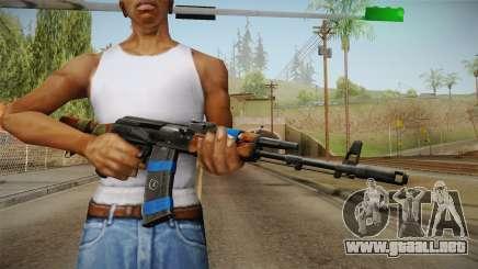 Contract Wars - AK-74 para GTA San Andreas