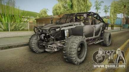 Ghost Recon Wildlands - Unidad AMV No Minigun v2 para GTA San Andreas
